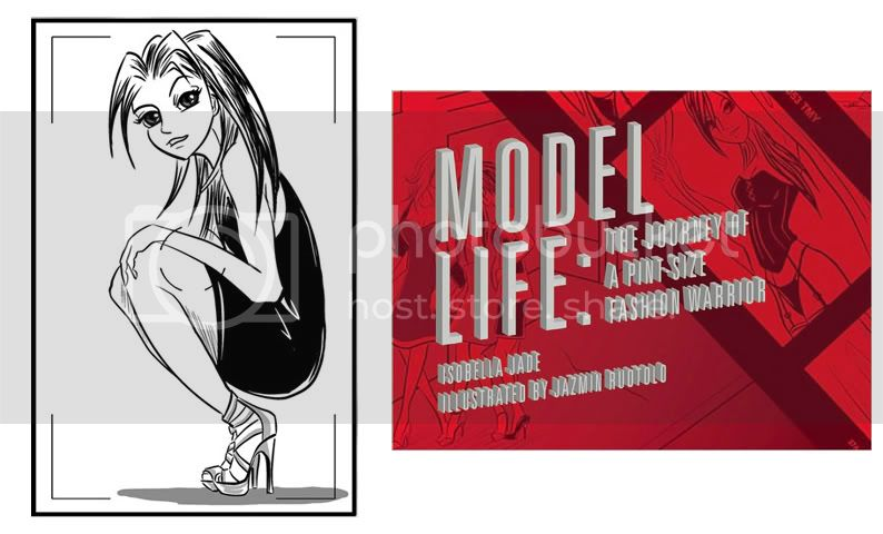 modeling,books,graphic novels,comics,authors illustratio models